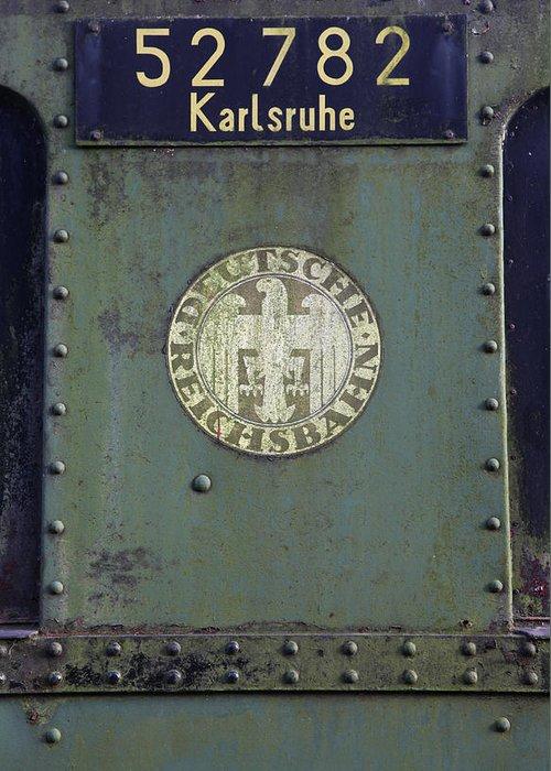 Deutsche Reichsbahn Greeting Card featuring the photograph Deutsche Reichsbahn by Falko Follert
