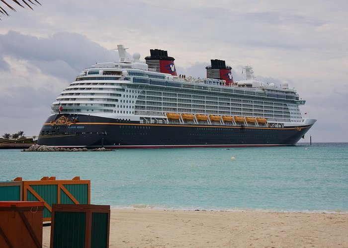 Disney Dream Greeting Card featuring the photograph Disney Dream by Michael Albright