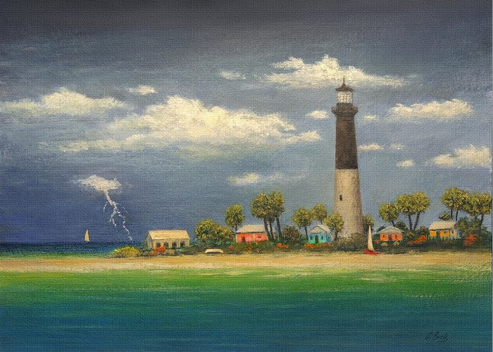 Dry Tortugas Paintings Greeting Cards