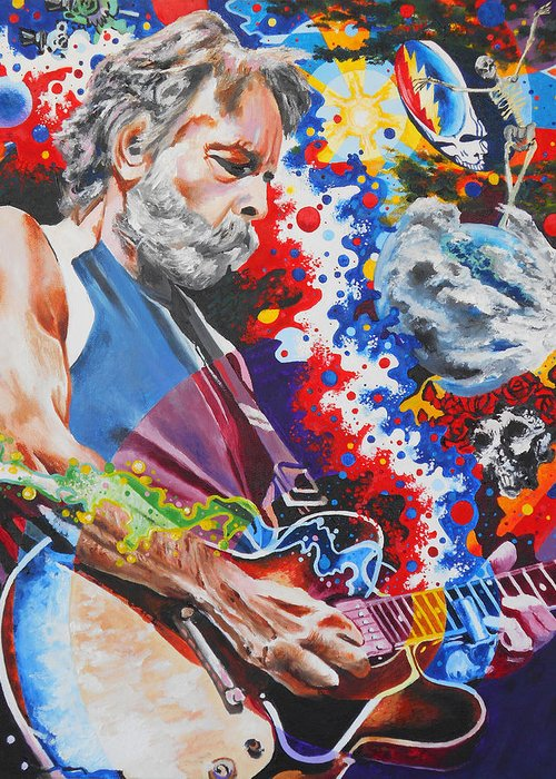 Grateful Dead Band Greeting Cards