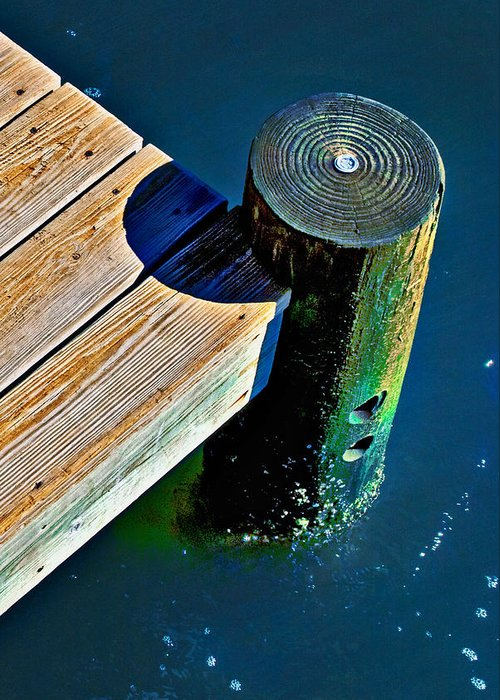 Dock Greeting Card featuring the photograph Dock by Robert Smith