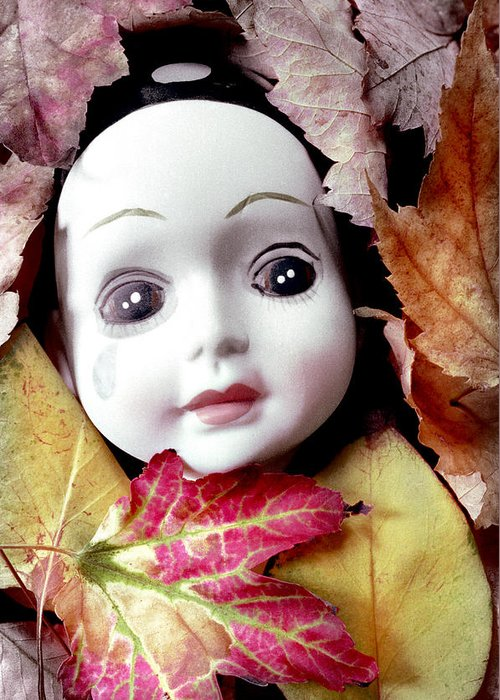 Doll Greeting Card featuring the photograph Doll by Andre Giovina