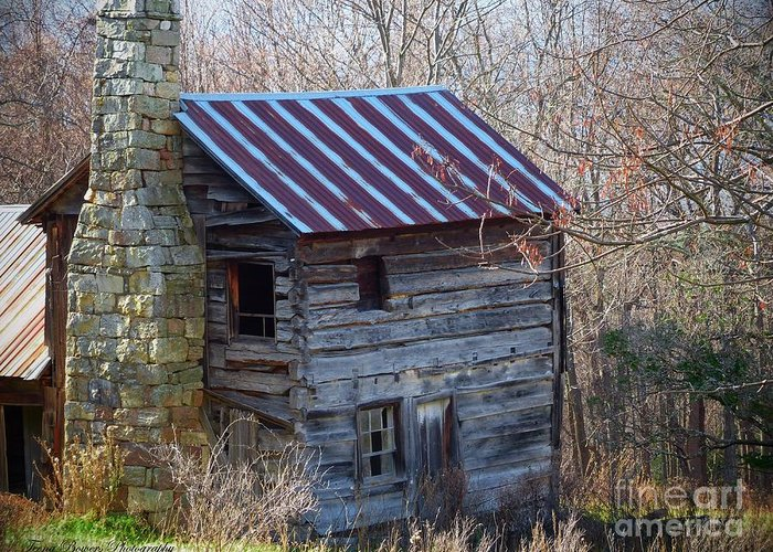 Germany Valley Greeting Card featuring the photograph Dolly's Hearth - Pendleton County West Virginia by Teena Bowers