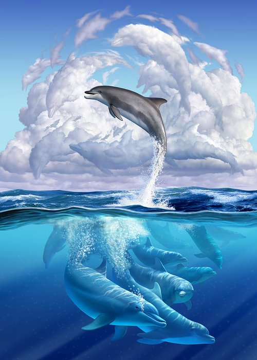 Dolphin Greeting Cards
