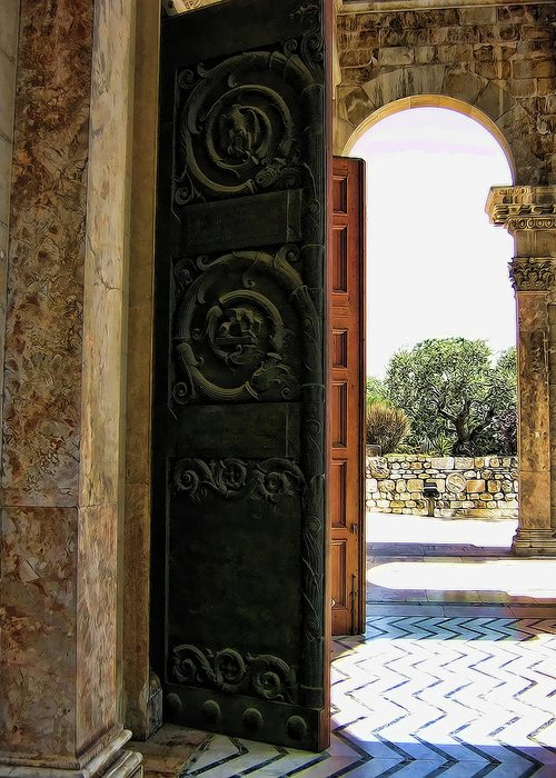 Doors Greeting Card featuring the photograph Doors To All Nations by Douglas Barnard