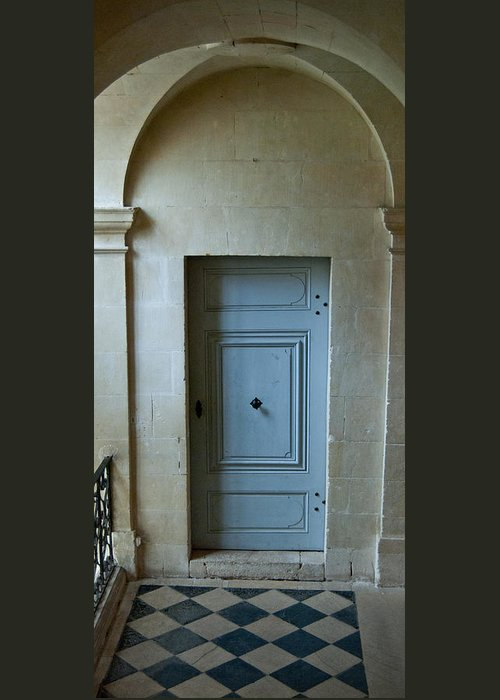 Door Greeting Card featuring the photograph Doorway To My Heart by Jani Freimann