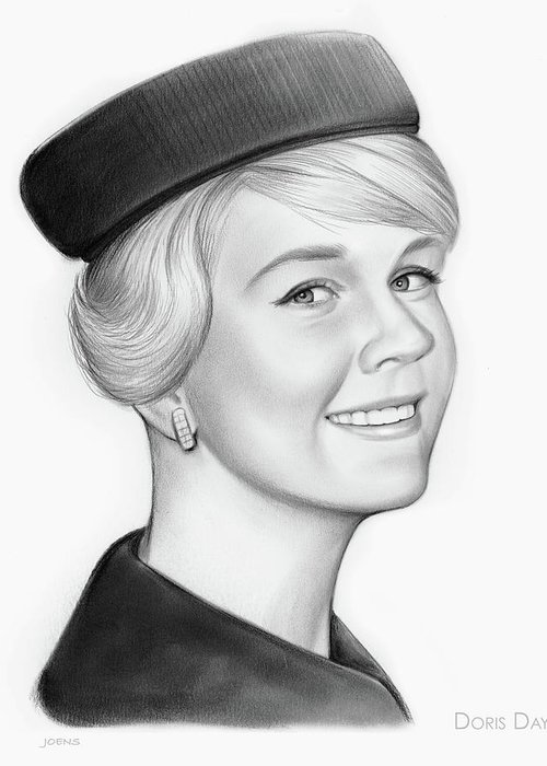 Doris Day Greeting Cards