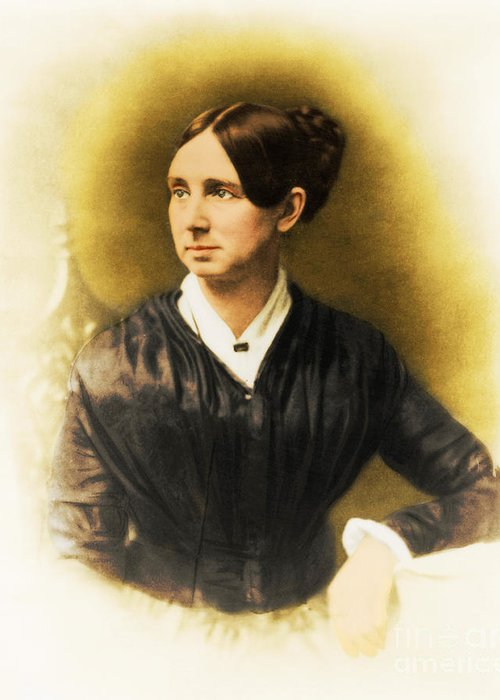 History Greeting Card featuring the photograph Dorothea Dix, American Reformer by Photo Researchers