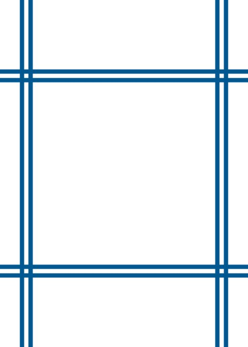 double line border design sega blue greeting card for sale by custom home fashions double line border design sega blue greeting card