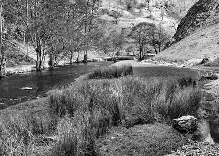 Dale Greeting Card featuring the photograph Dovedale, Peak District UK by John Edwards