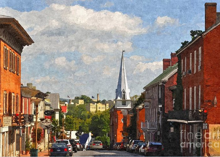 Lexington Greeting Card featuring the photograph Downtown Lexington 3 by Kathy Jennings