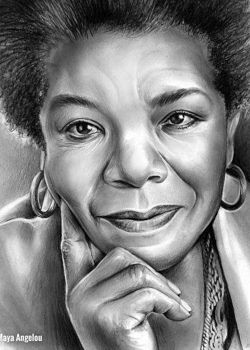Maya Angelou Greeting Cards