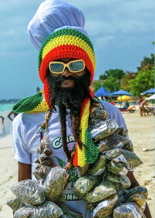 Dreadlock rasta greeting card for sale by debbie ann powell jamaica greeting card featuring the photograph dreadlock rasta by debbie ann powell m4hsunfo
