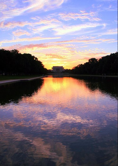Washington D.c. Greeting Card featuring the photograph Dream by Mitch Cat