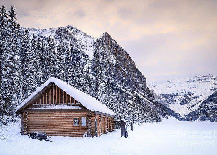 Log Cabin Stationery