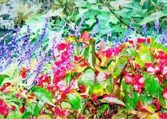 Flowers Greeting Card featuring the digital art Dreaming Of Spring by Sherry Holder Hunt