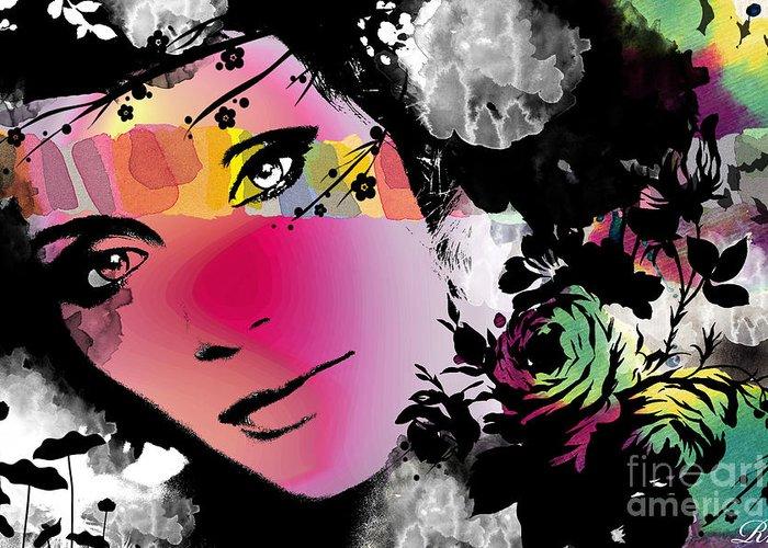 Art Greeting Card featuring the digital art Dreams by Ramneek Narang
