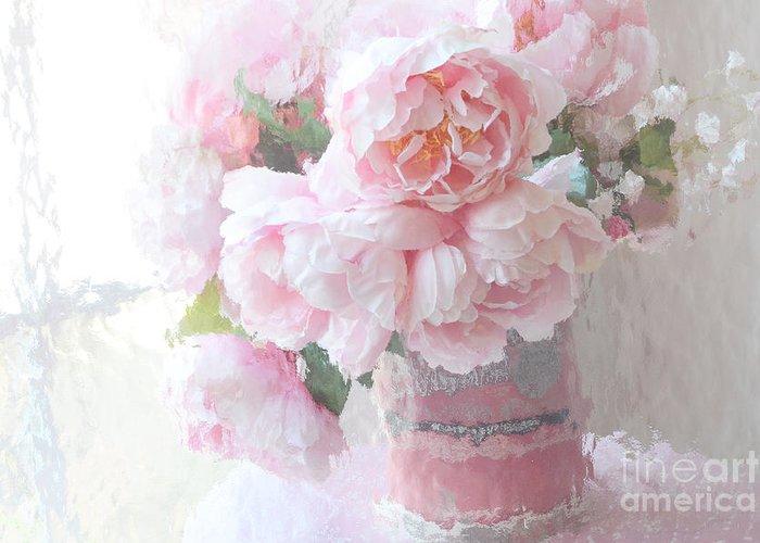 Pastel Pink Greeting Cards