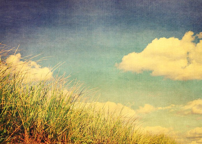 Clouds Greeting Card featuring the photograph Drift by Nancy Coelho