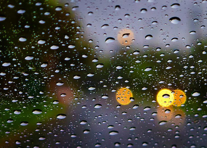 Tim Nichols Greeting Card featuring the photograph Driving Rain by Tim Nichols