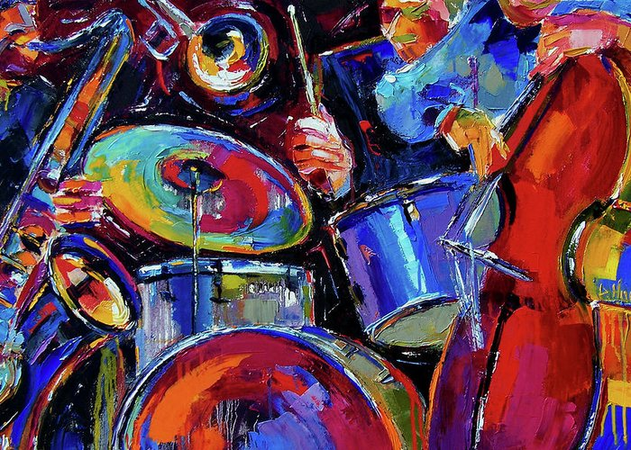 Bass Drums Greeting Cards