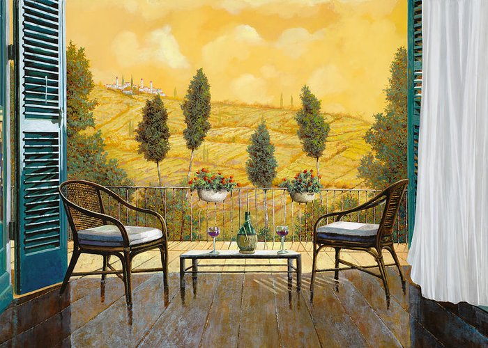 Terrace Greeting Cards