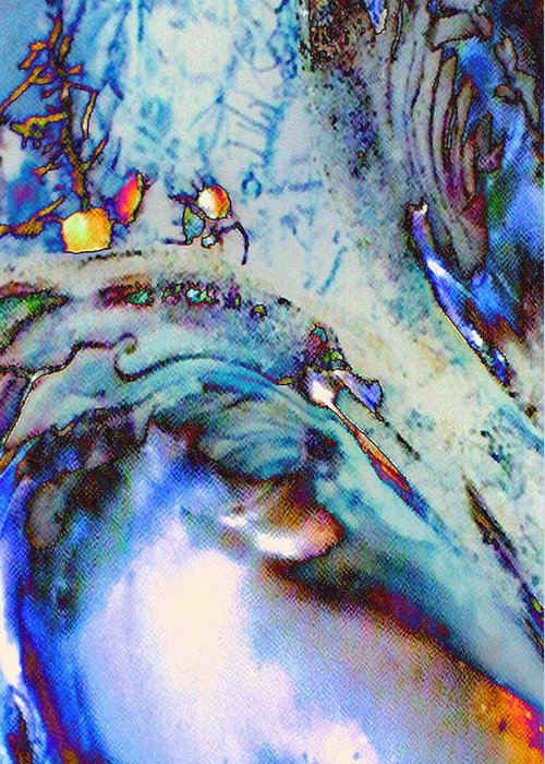 Microscopics Greeting Card featuring the digital art Due Coperture by Michele Caporaso