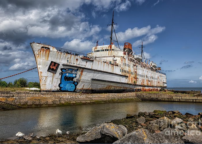 Abandoned Greeting Card featuring the photograph Duke Of Lancaster by Adrian Evans
