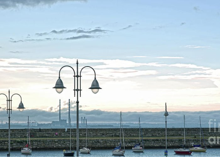 Dun Laoghaire Greeting Card featuring the photograph Dun Laoghaire 2 by Alex Art and Photo