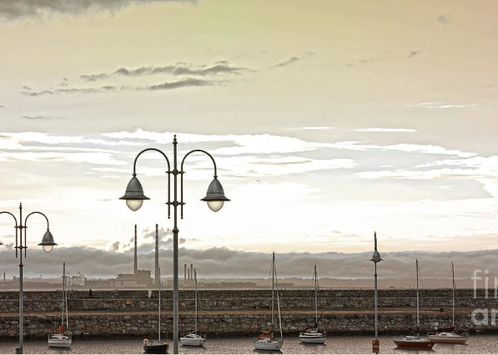 Dun Laoghaire Greeting Card featuring the photograph Dun Laoghaire 39 by Alex Art and Photo