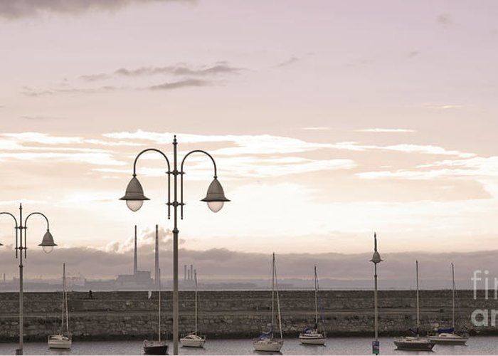 Dun Laoghaire Greeting Card featuring the photograph Dun Laoghaire 41 by Alex Art and Photo