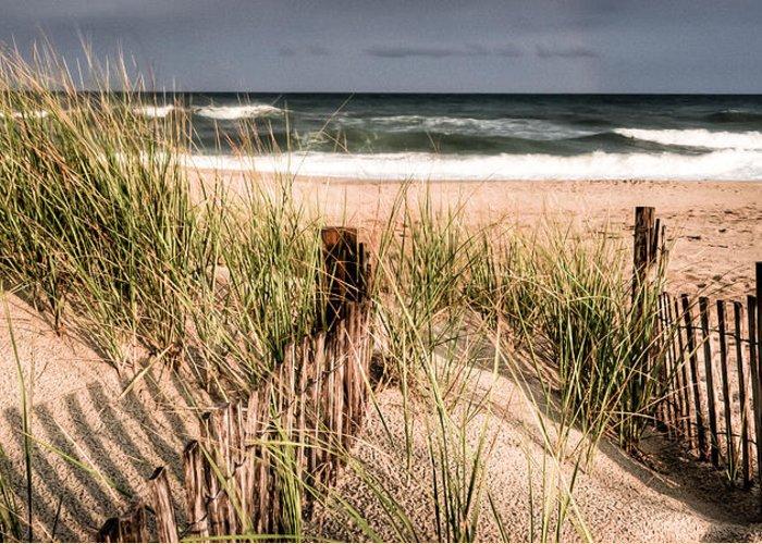 Beach Greeting Card featuring the photograph Dune II by David Hahn