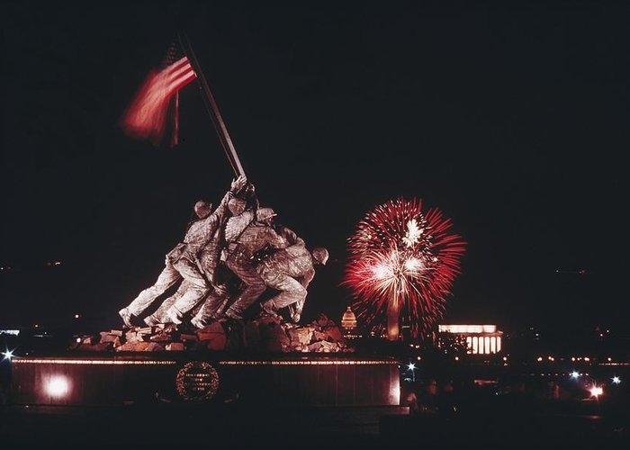 War Monuments And Shrines Greeting Cards
