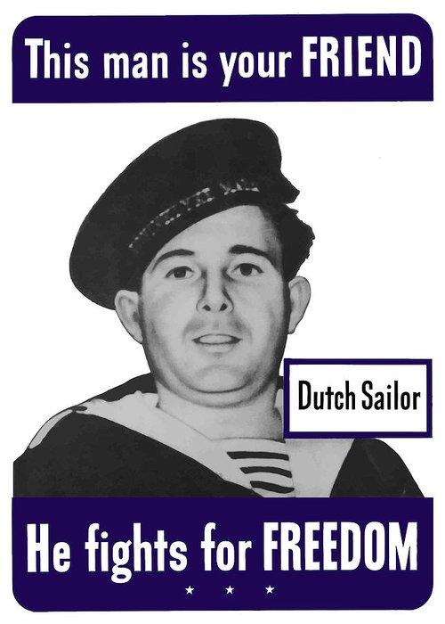 Sailors Greeting Cards
