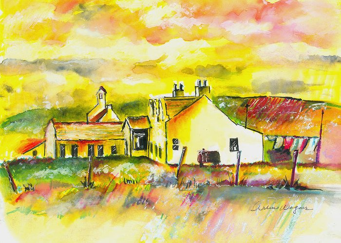 Pen Paintings Greeting Cards