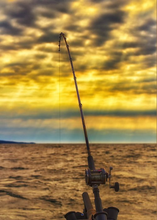 Lake Superior Greeting Card featuring the photograph Early Morning Bite by Bill Tiepelman