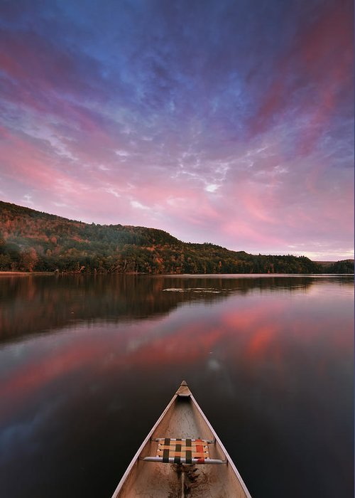 Joseph Rossbach Greeting Card featuring the photograph Echo Lake Sunset by Joseph Rossbach