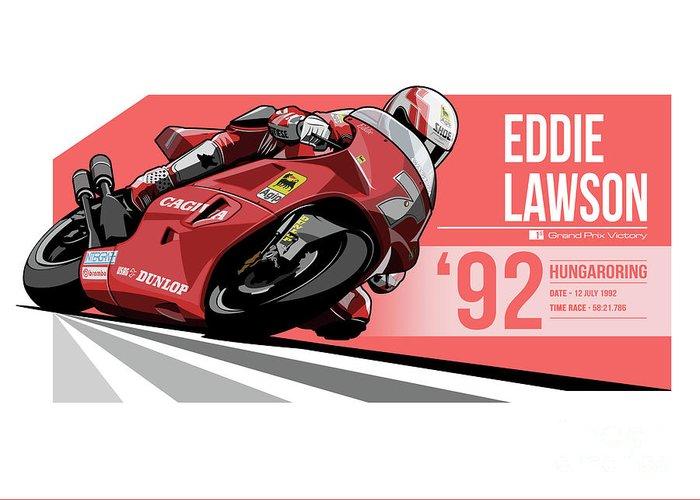 Eddie Lawson Greeting Cards