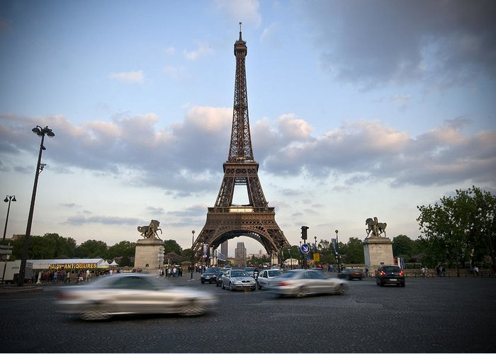 Europe Greeting Card featuring the photograph Eiffel Tower by Krista Corcoran Photography