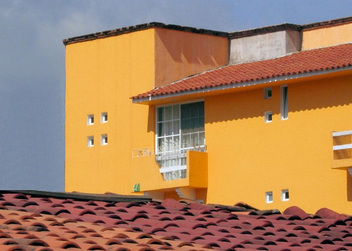 House Greeting Card featuring the photograph el Apartamento by Robert Boyette