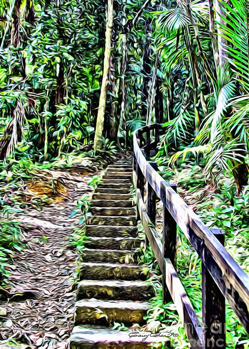 Yunque Greeting Cards