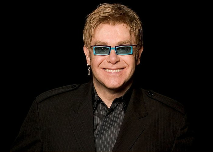 Elton John Greeting Cards