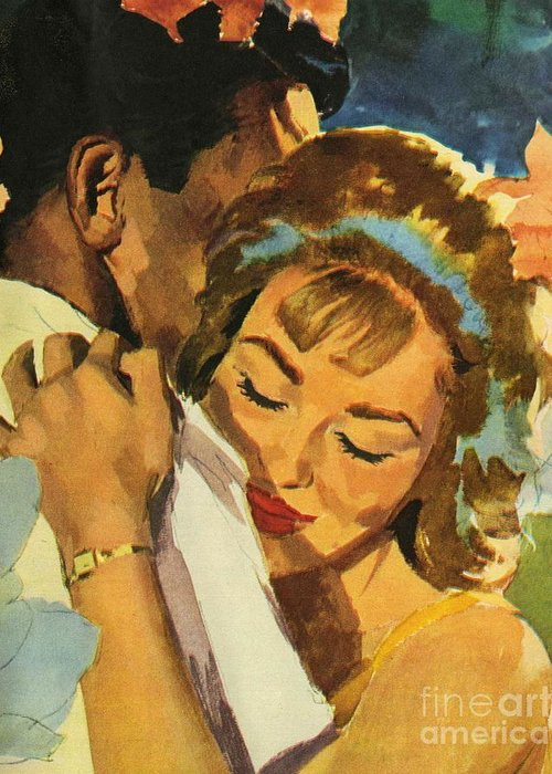 40s Paintings Greeting Cards