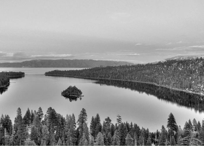 Nature Greeting Card featuring the photograph Emerald Bay Lake Tahoe by Brad Scott