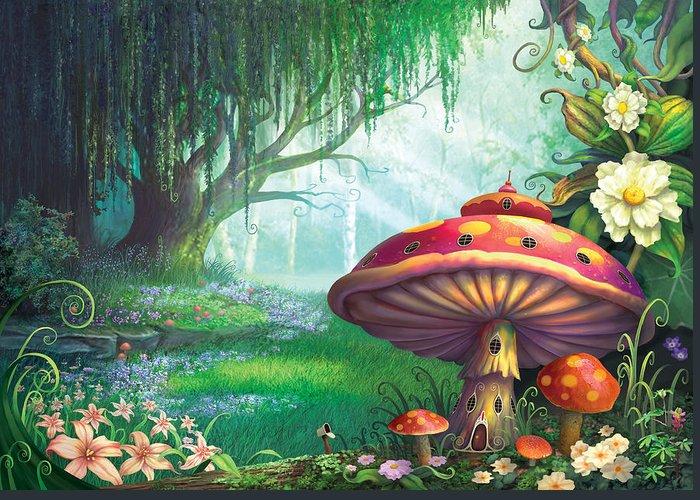 Magic Mushroom Greeting Cards