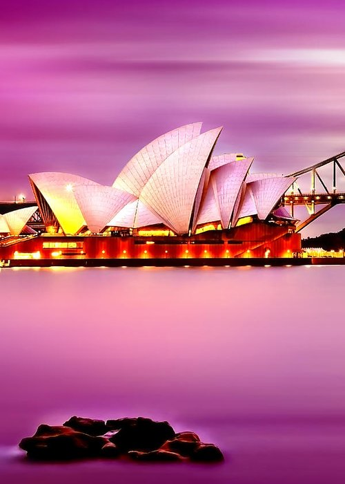 Sydney Harbour Greeting Cards