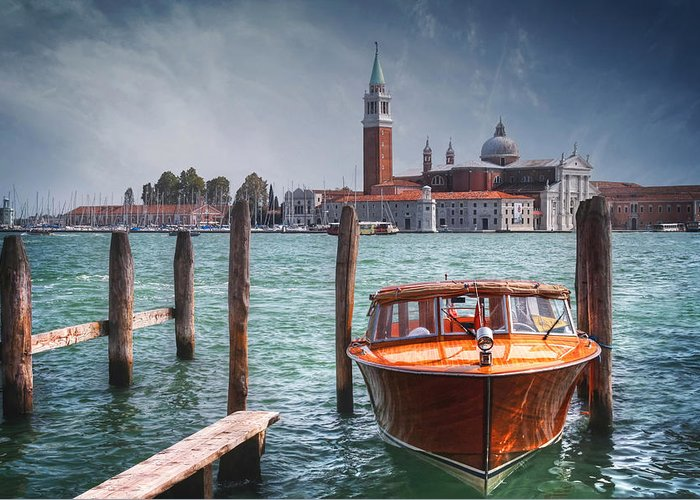 Venice Greeting Card featuring the photograph Enchanting Venice by Carol Japp