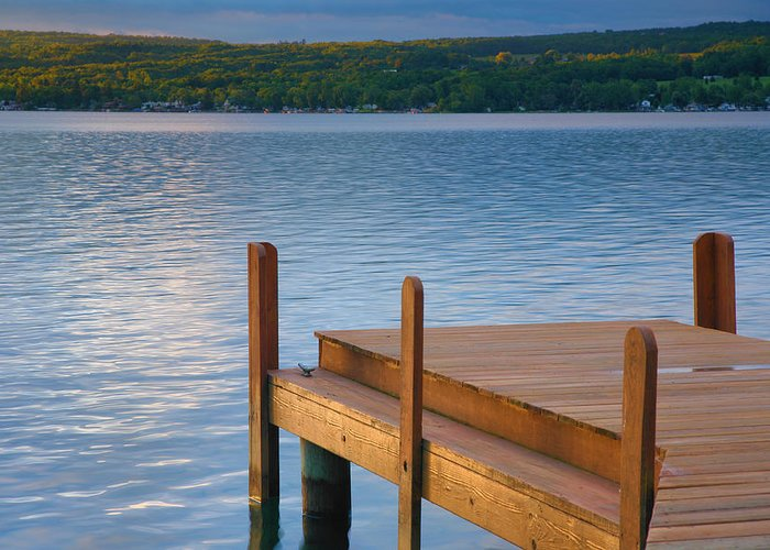 Lake Greeting Card featuring the photograph End Of Summer IIi by Steven Ainsworth