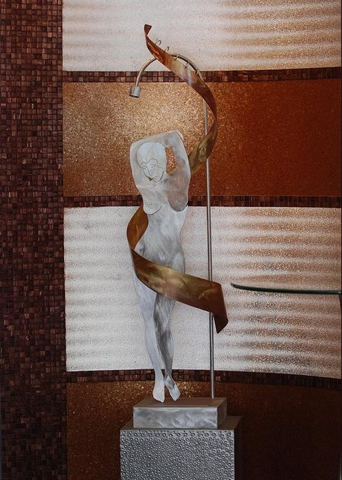 Statue Greeting Card featuring the photograph Erotic Museum Piece by Rob Hans