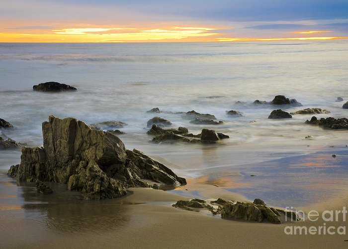Beaches Greeting Card featuring the photograph Ethereal Seas by Greg Clure
